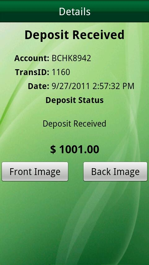 M&T Mobile Deposit - Business - screenshot