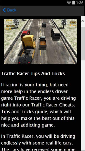 Traffic Race Tips And Tricks