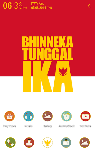 For Indonesia Atom Theme