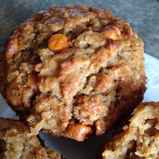 Oatmeal Butterscotch Muffins