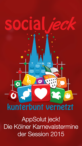 AppSolut jeck Kölner Karneval