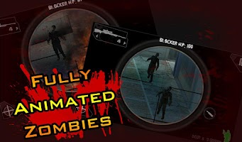 Screenshot of iSnipe: Zombies (Beta)