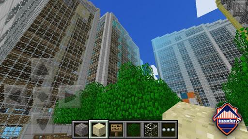 惊人的Minecraft PE CITY
