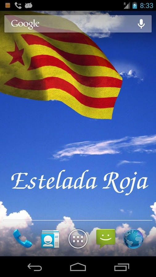 Catalunya Flag Live Wallpaper+ - screenshot