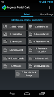 Ingress Portal Calc - screenshot thumbnail
