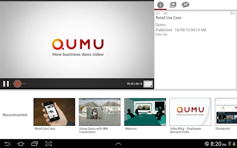 Qumu HD screenshot 12