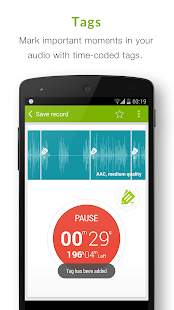 Recordense Voice Recorder - screenshot thumbnail