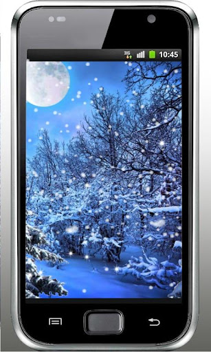 Winter Snow Fireflies LWP