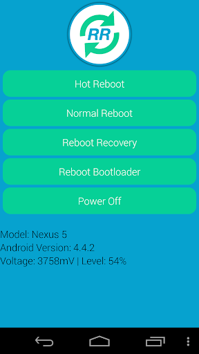 Rapid Reboot ROOT