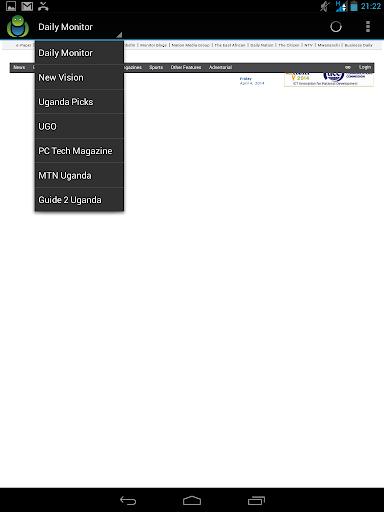 【免費新聞App】Uganda websites collection-APP點子