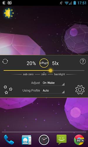 Lux Auto Brightness - screenshot