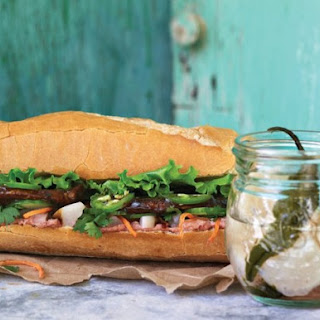 Bánh Mì with Pickled Japanese Turnips from 'Little Jars, Big Flavors'.