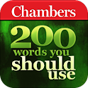 Chambers 200 Words-Should Use logo