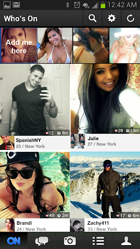 ON - Chat & Meet New Friends 1.2.16 screenshots 1