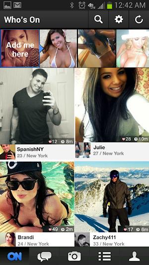 0 ON - Chat & Meet New Friends App screenshot