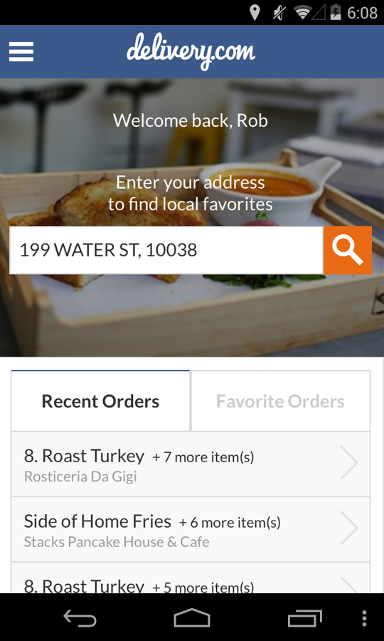delivery.com - screenshot