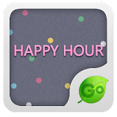 GO Keyboard Happy hour theme