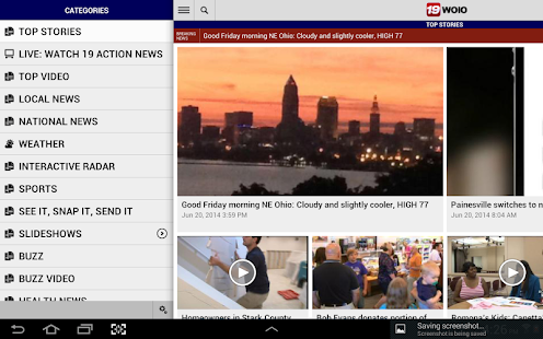 WOIO 19 News - screenshot thumbnail
