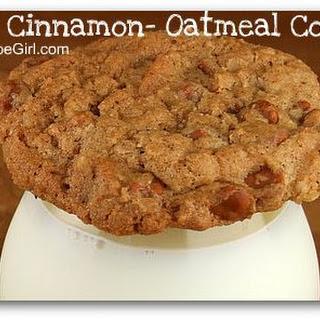 Spicy Cinnamon- Oatmeal Cookies