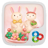 Berry Rabbit GO Launcher Theme