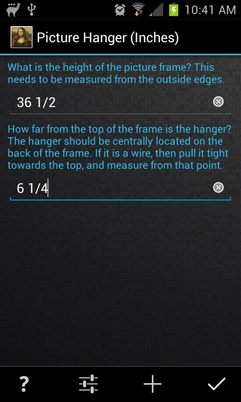 Easy Picture Hanger Free- screenshot