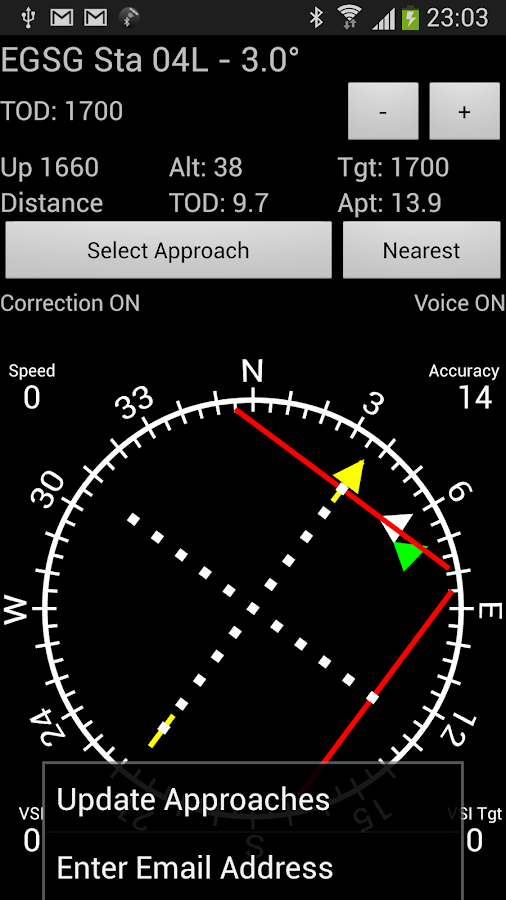 GPS ILS- screenshot