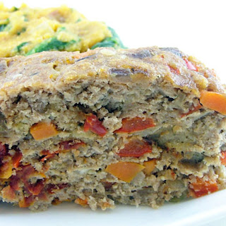 Sun-Dried Tomato Turkey Meatloaf.