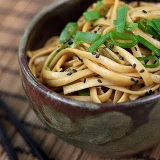 Sesame Noodles.