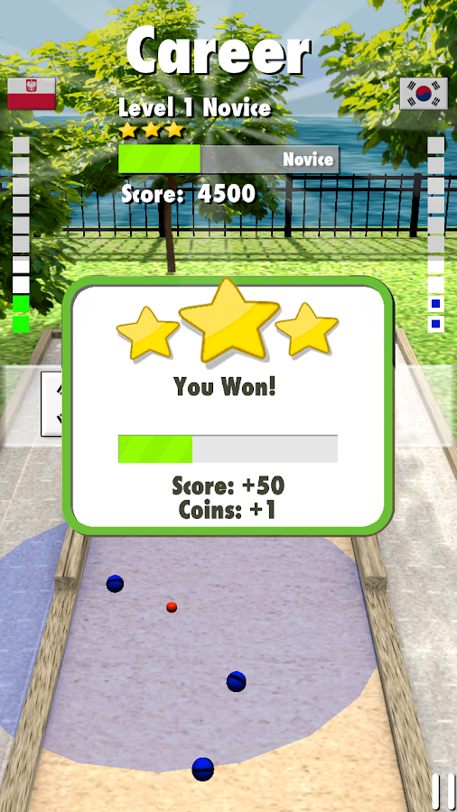 Bocce 3D - screenshot