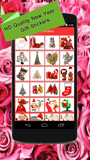 New Year Gift Stickers