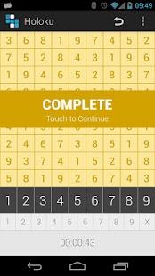 Holoku (Holo Sudoku) - screenshot thumbnail