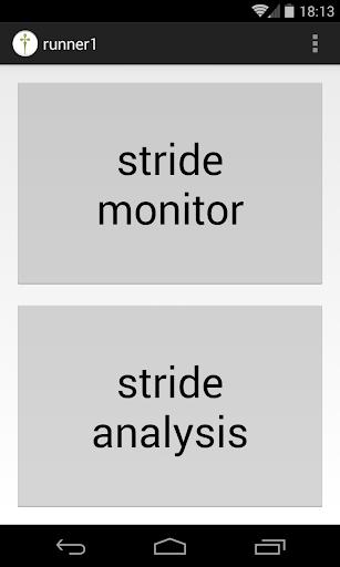 ftNote - stride monitor