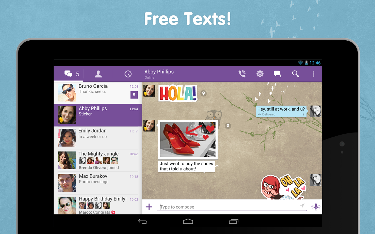 Viber - screenshot