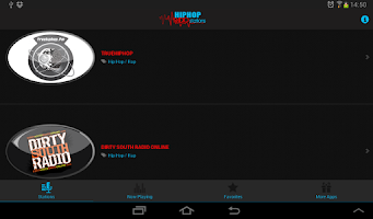 Screenshot of Hip Hop Radio Stations