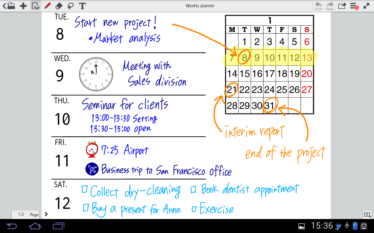 Note Anytime Lite - screenshot
