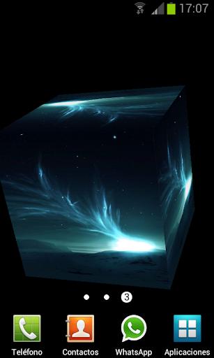 玩個人化App|极地极光3D动态壁纸免費|APP試玩