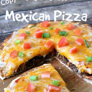 Copycat TacoBell Mexican Pizza.
