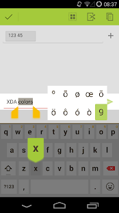 ChocoUI (XDA colors) - screenshot thumbnail