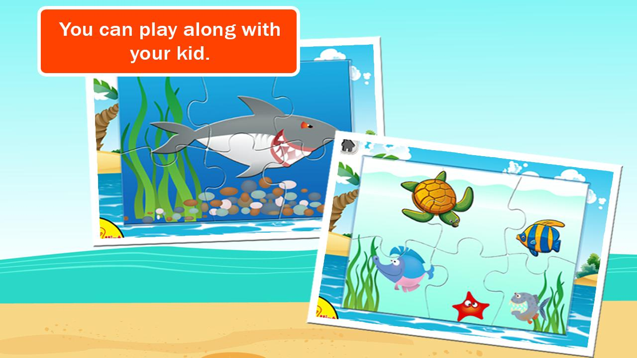 Underwater Jigsaw Puzzles - screenshot