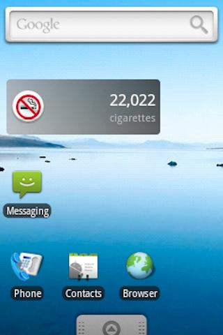 Smoking Calculator - screenshot