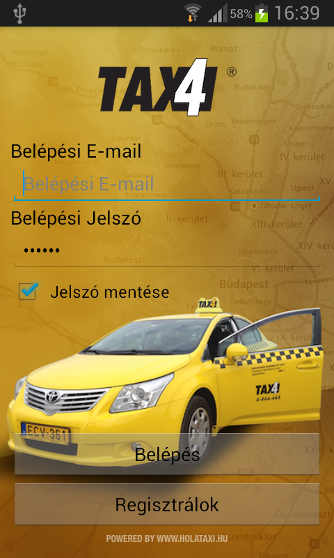 Taxi4- screenshot