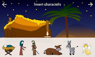 Screenshot of Christmas Nativity Scene