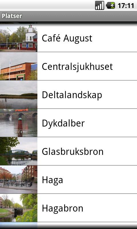 Båtbussguide (Svenska)- screenshot