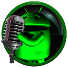 poweramp skin android green icon
