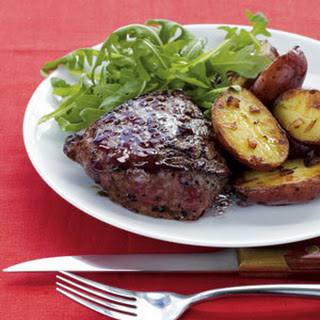 Bistro-Style Sirloin with New Potatoes