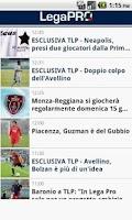 Screenshot of Lega Pro