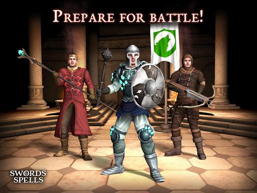 Swords and Spells - MMORPG