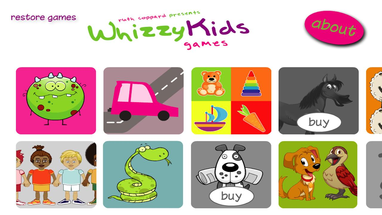 Whizzy Kids Extra- screenshot