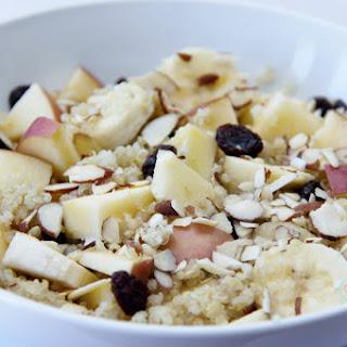 Apple Quinoa Breakfast Bowl Recipe