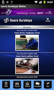 Suara Surabaya Mobile- screenshot thumbnail